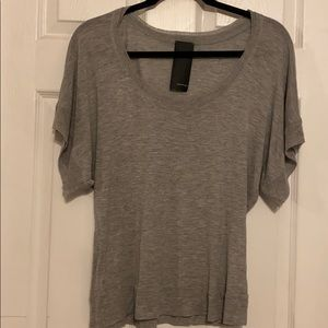 Soft T-shirt with Flowy Sleeves